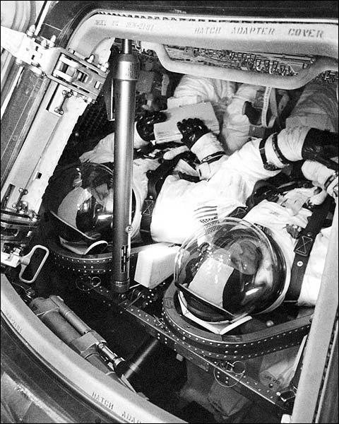 NASA Apollo 13 Back-up Astronauts Photo Print for Sale