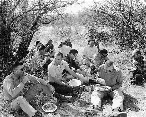 NASA Apollo 13 Crew Luncheon Field Trip Photo Print for Sale