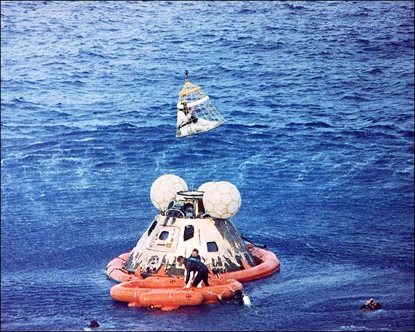 Apollo 13 Recovery Astronaut John Swigert Photo Print for Sale