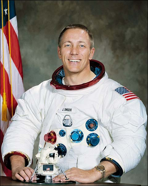 Astronaut John L Swigert Portrait Apollo 13 Photo Print for Sale