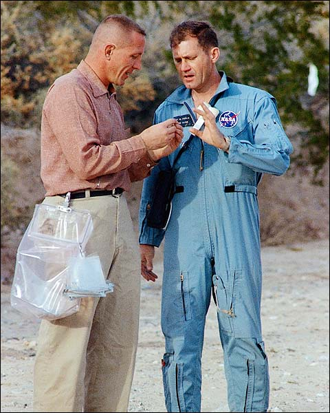 Jack Swigert & Bill Pogue Apollo 11 1969 Photo Print for Sale