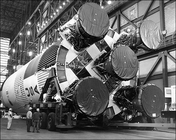 Apollo 11 Saturn V Rocket Booster Photo Print for Sale
