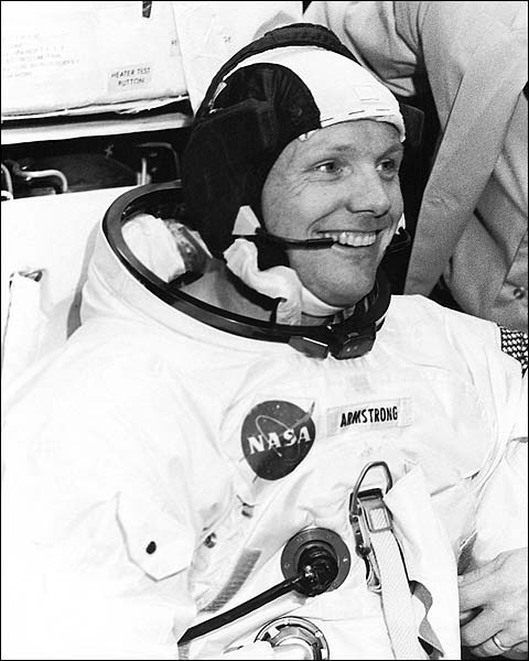 Apollo 11 Neil Armstrong Before Training Photo Print for Sale