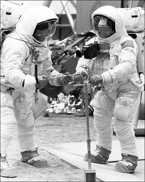 Apollo 11 Neil Armstrong & Buzz Aldrin Photo Print for Sale