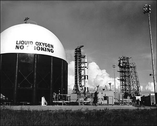 Apollo 11 Saturn V Mobile Service Structure Photo Print for Sale