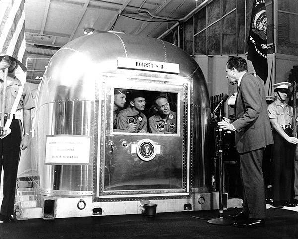Apollo 11 Astronauts Meet President Nixon Photo Print for Sale
