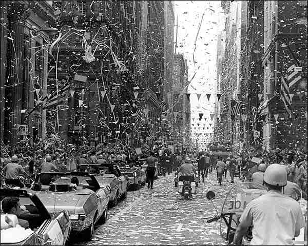 Apollo 11 Ticker Tape Parade Chicago Photo Print for Sale