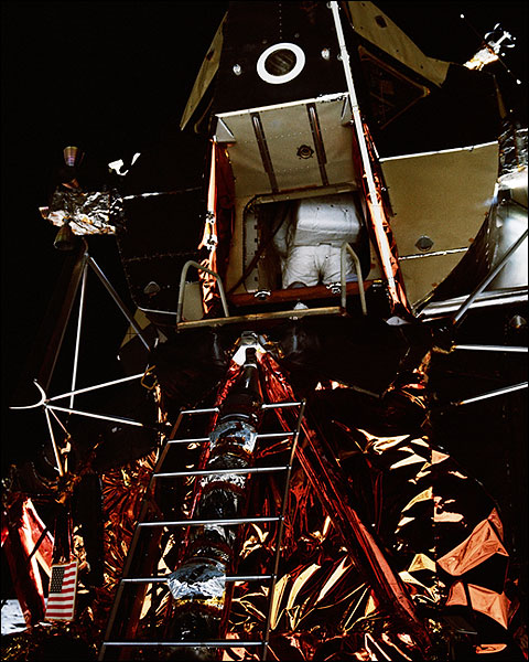 Apollo 11 Buzz Aldrin Lunar Module Photo Print for Sale