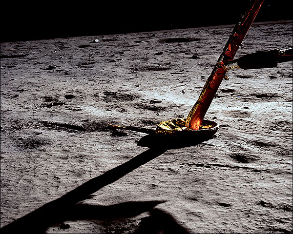 Apollo 11 Lunar Lander Strut Moon Surface Photo Print for Sale