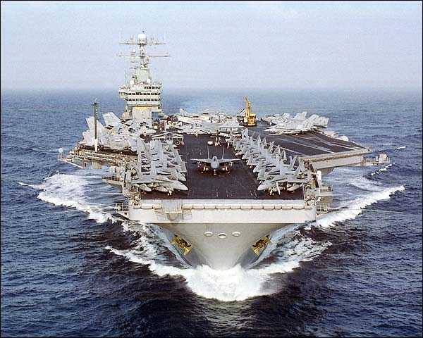 USS Dwight Eisenhower Aircraft Carrier Photo Print for Sale