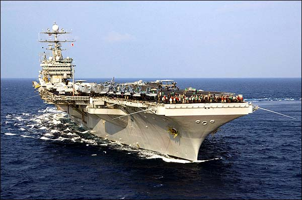 USS Harry S Truman Aircraft Carrier Photo Print for Sale