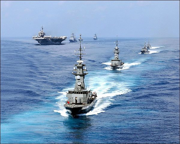 USS Constellation Carrier Battle Group Photo Print for Sale