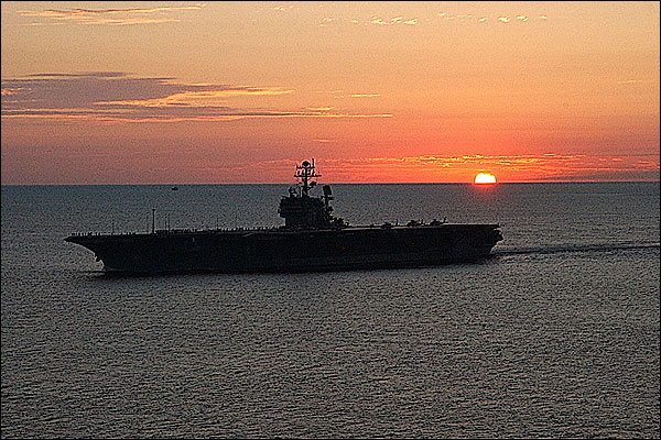 USS John F. Kennedy Aircraft Carrier Photo Print for Sale