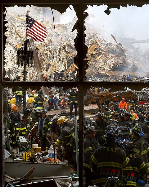 9/11 Firefighters Ground Zero Photo Print for Sale
