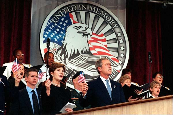 President George W. Bush 9/11 Memorial Photo Print for Sale