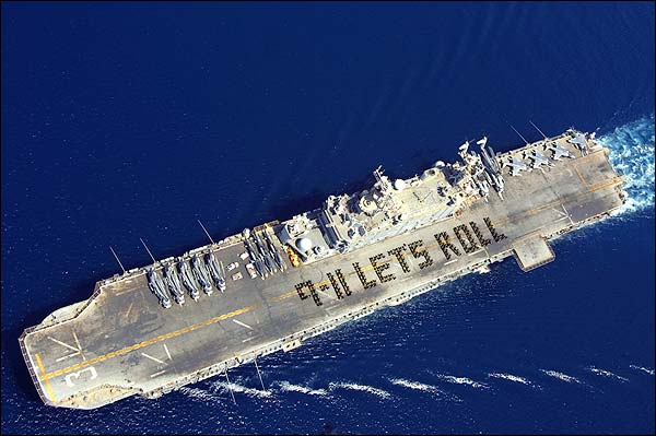 USS Belleau Wood 9/11 Let's Roll Photo Print for Sale