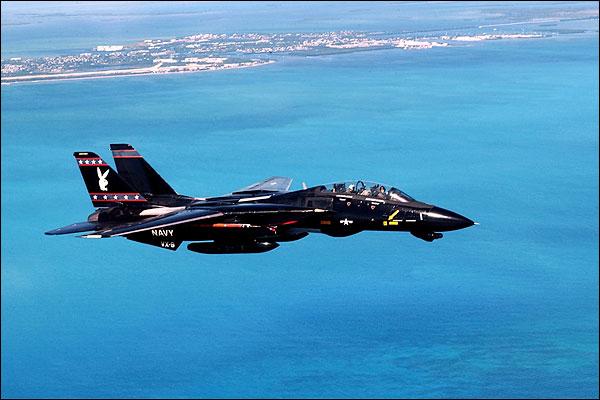 F-14 Tomcat Black w/ Playboy Bunny Photo Print for Sale