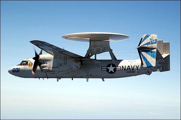E-2 Hawkeye of VAW-121 Photo Print for Sale