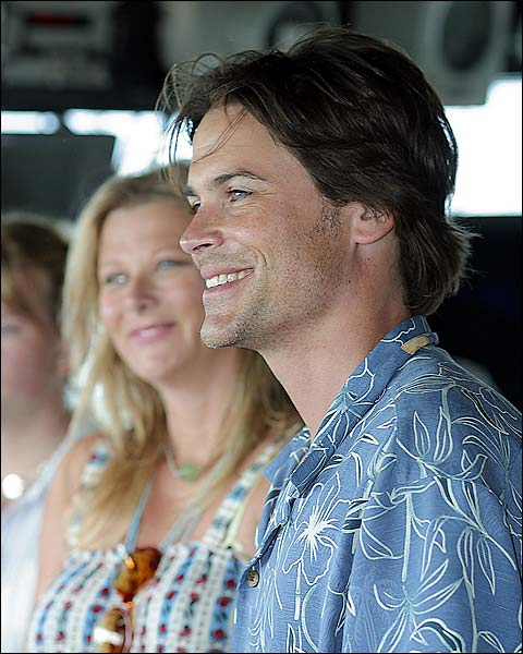 Rob Lowe Aboard USS Russell DDG 59 Photo Print for Sale