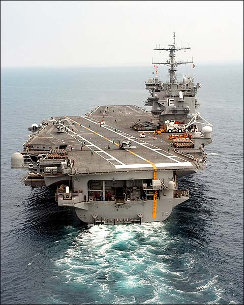 USS Enterprise Aircraft Carrier Stern View Photo Print for Sale