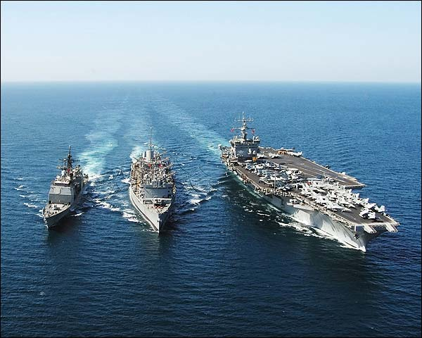 USS Enterprise Gettysburg & Detroit Navy Photo Print for Sale