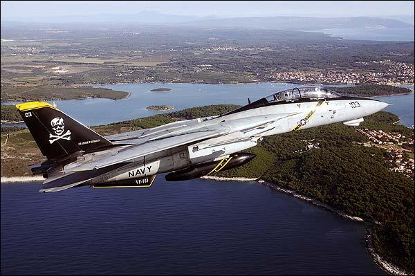 Navy F-14 'Jolly Rogers' VF-103 Croatia Photo Print for Sale