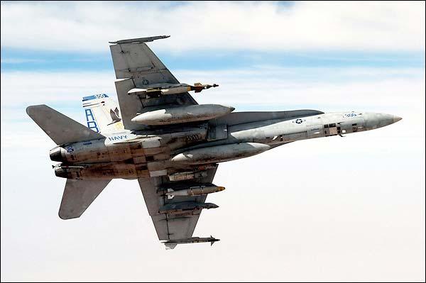 F-18 Hornet 'Marauders' VFA-82 Banking Navy Photo Print for Sale