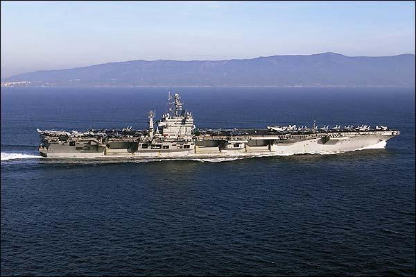 USS George Washington Aircraft Carrier Photo Print for Sale