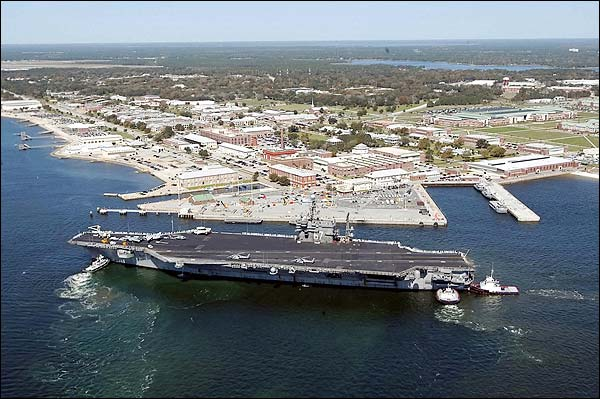 USS John F Kennedy CVN 67 NAS Pensacola Photo Print for Sale