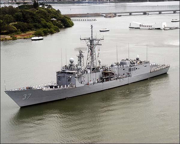 USS Crommelin FFG 37 Pearl Harbor Photo Print for Sale