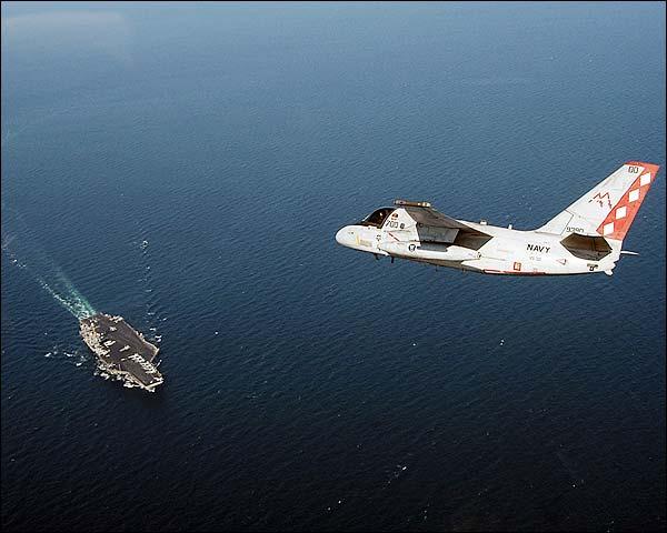 S-3B Viking VS-30 & USS John F Kennedy CV67 Photo Print for Sale