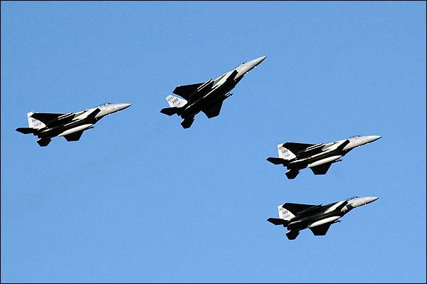 F-15 Fighter Jet Missing Man Formation Photo Print for Sale