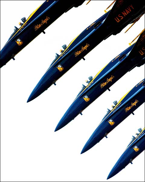 Blue Angels Demonstration Team Maneuver Photo Print for Sale