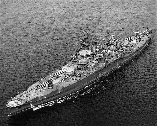 USS Pennsylvania Battleship U.S. Navy 1946 Photo Print for Sale