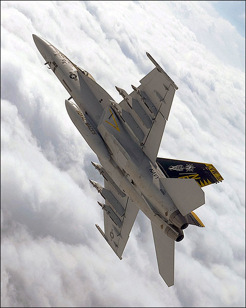 F/A-18E Super Hornet Aerial Maneuver Photo Print for Sale