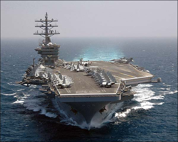Aircraft Carrier USS Dwight D. Eisenhower (CVN 69) Photo Print for Sale