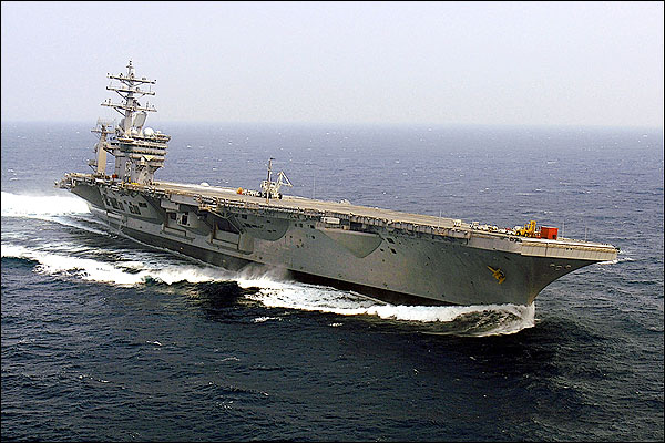 USS Dwight D. Eisenhower (CVN 69) at Sea Photo Print for Sale