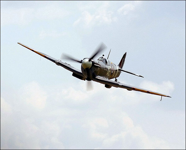 British WWII Supermarine Spitfire Plane  Photo Print for Sale
