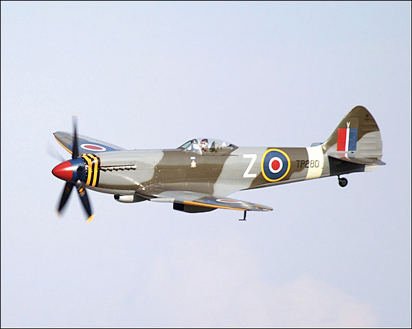 British Spitfire Mk XVIII Aircraft Photo Print for Sale