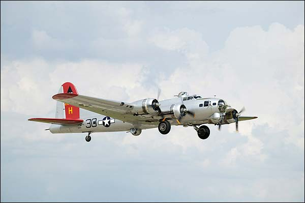 WWII B-17 Flying Fortress Bomber Photo Print for Sale