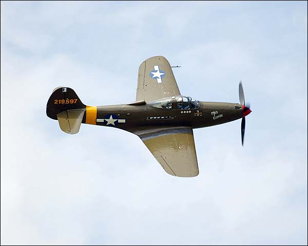 P-39 Airacobra WWII Fighter Aircraft Photo Print for Sale