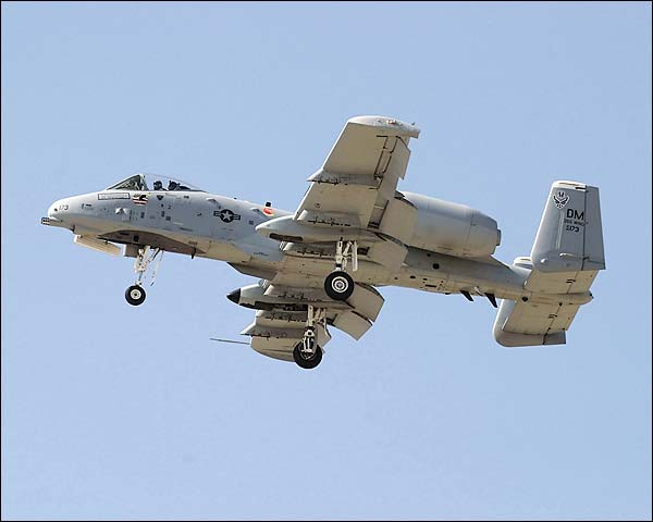 A-10 Thunderbolt / Warthog Flying Dirty Photo Print for Sale