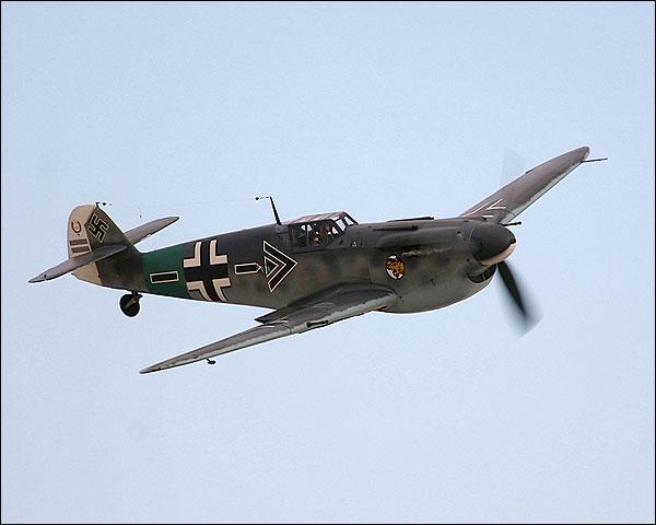 German Bf-109 / Spanish HA-1112 Buchon Photo Print for Sale