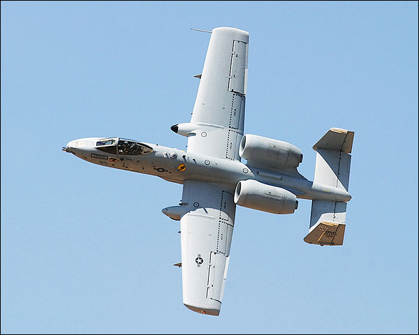 A-10 Thunderbolt II Warthog Banking Photo Print for Sale