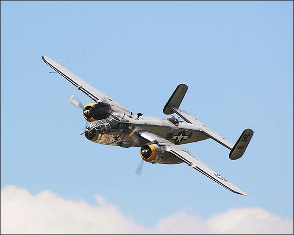 B-25 Mitchell Bomber Yankee Warrior Photo Print for Sale