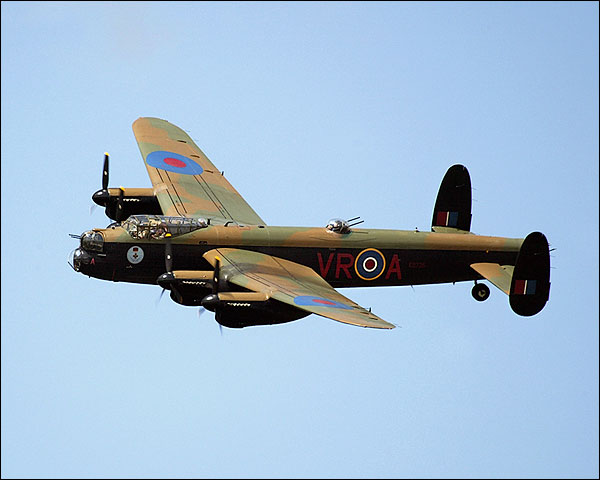 WWII British Avro Lancaster Bomber Aircraft Photo Print for Sale