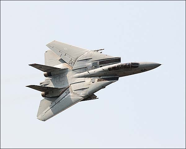 F-14 Tomcat Fighter Jet Banking Photo Print for Sale