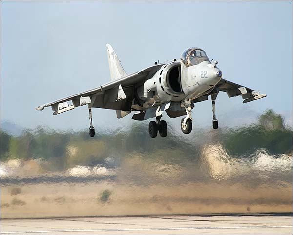 AV-8B Harrier Jump Jet Vertical Take-off Photo Print for Sale
