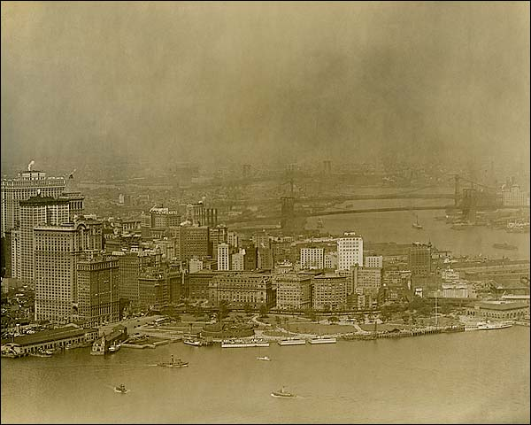 New York City Skyline 1920s Photo Print for Sale