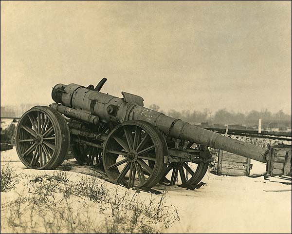 World War 1 Artillery Gun Photo Print for Sale